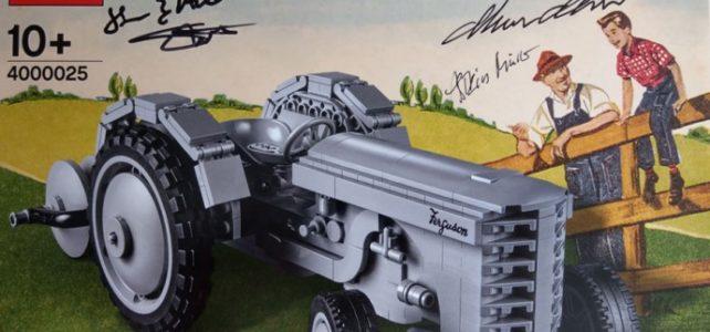 LEGO 4000025 Ferguson Tractor LEGO Inside Tour 2018