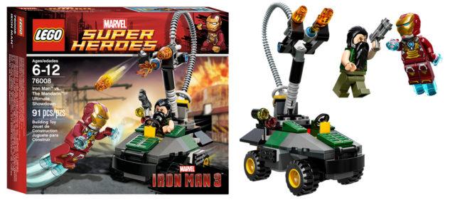 LEGO 76008 Iron Man 3 Mandarin