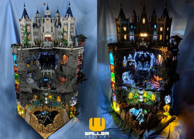 LEGO Batcave & Wayne Manor