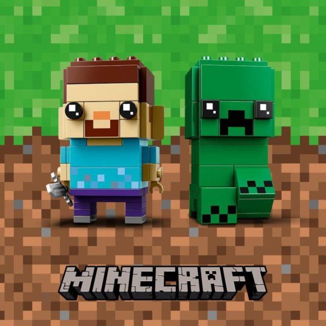 LEGO BrickHeadz 41612 Steve & Creeper