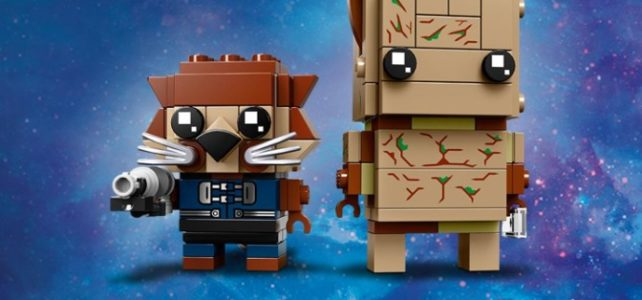 LEGO BrickHeadz 41626 Groot and Rocket Raccoon