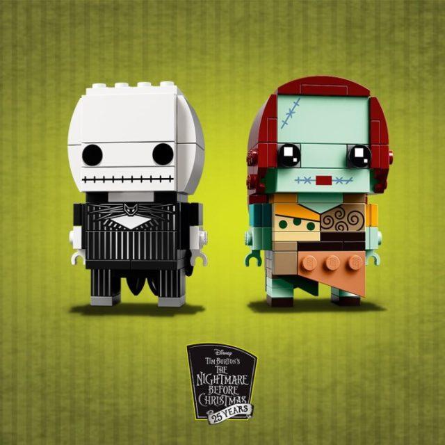 LEGO BrickHeadz 41630 Jack Skellington & Sally