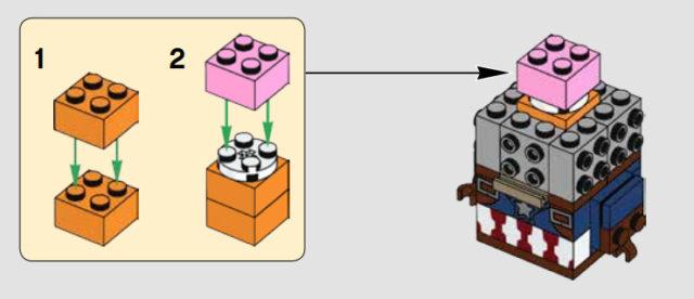 LEGO BrickHeadz Brain