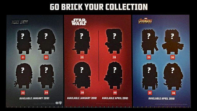 LEGO BrickHeadz Go Brick your Collection