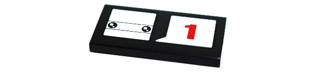 LEGO BrickHeadz number