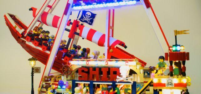 LEGO Fete foraine bateau pirate