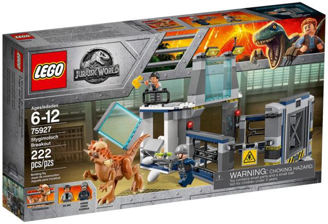 LEGO Jurassic World 75927 Stygimoloch Breakout