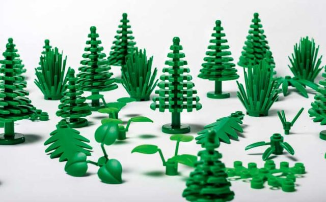 LEGO Plants for plants botanical elements