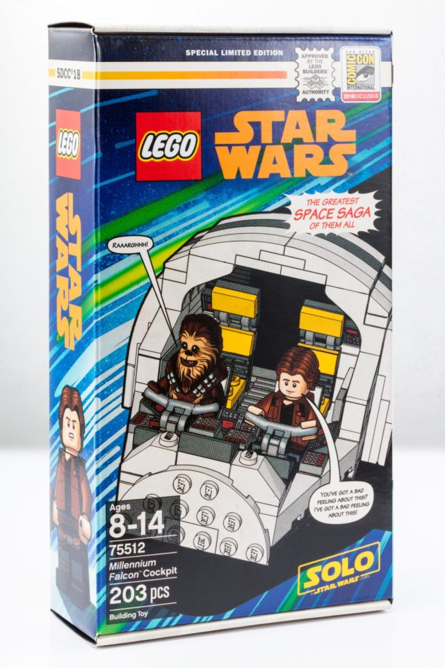 LEGO Star Wars 75512 Millennium Falcon Cockpit SDCC 2018