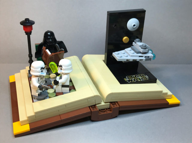 LEGO Star Wars story book 1