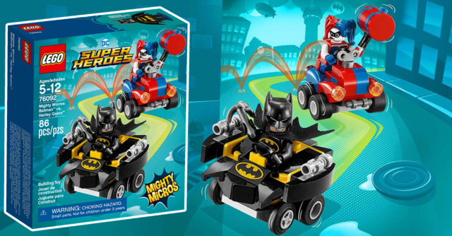 REVIEW LEGO 76092 DC Comics Mighty Micros Batman vs Harley Quinn