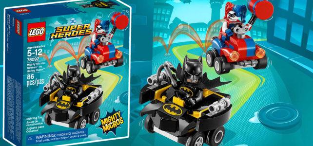 REVIEW LEGO 76092 DC Comics Mighty Micros Batman vs Harley Quinn