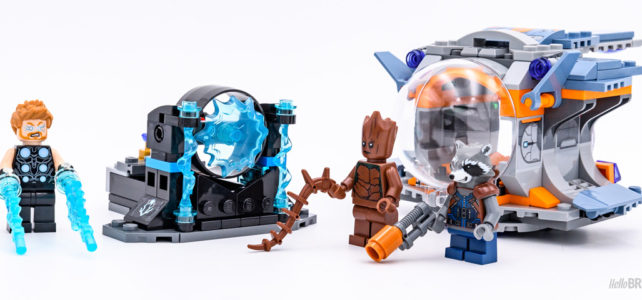 REVIEW LEGO 76102 Thor's Weapon Quest