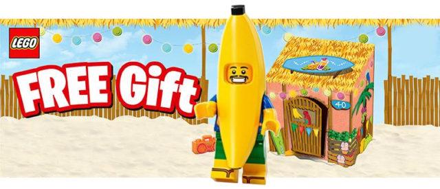 LEGO5005250 Banana Guy offert