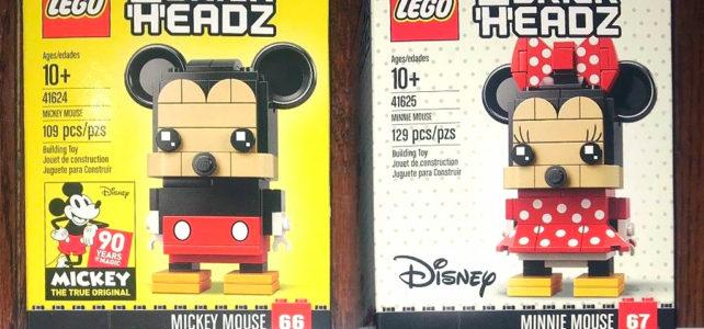 LEGO BrickHeadz Mickey Minnie