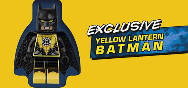LEGO DC Super Heroes Visual Dictionary Yellow Lantern Batman