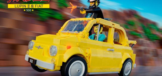 LEGO Fiat 500 F Lupin III edition