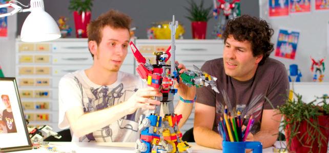 LEGO Ideas 21311 Voltron video designers