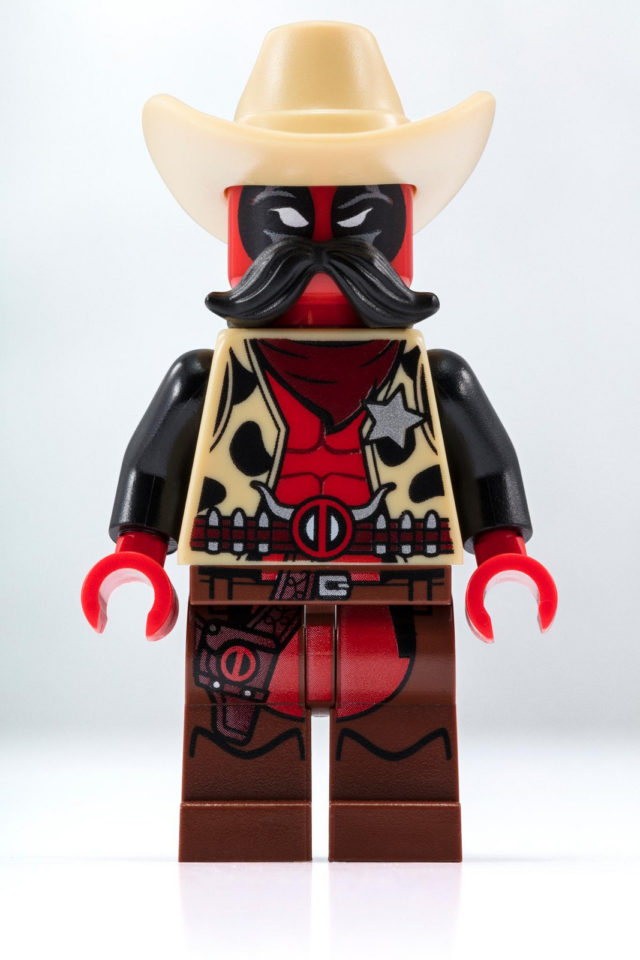 LEGO SDCC 2018 Marvel Sheriff Deadpool