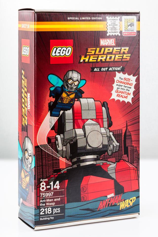 SDCC 2018 LEGO Marvel 75997 Ant-Man and the Wasp
