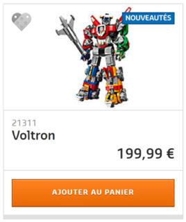 Shop LEGO Voltron