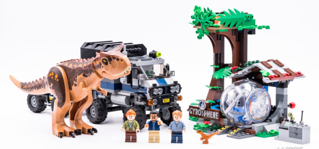 REVIEW LEGO 75929 Carnotaurus Gyrosphere Escape : Like a Rolling Stone !