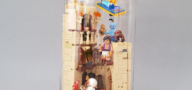 Aladdin à Agrabah, sous cloche