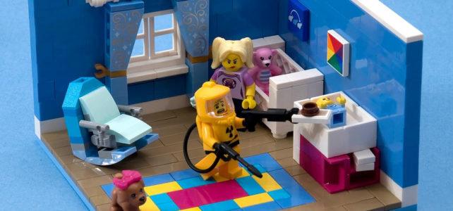 LEGO Daddy duty