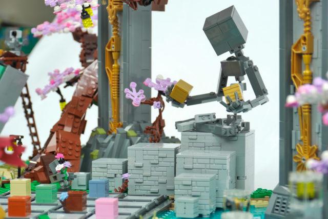 LEGO cubes