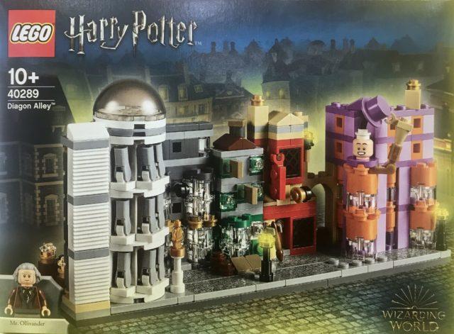 Nouveauté LEGO Harry Potter 40289 Diagon Alley microscale