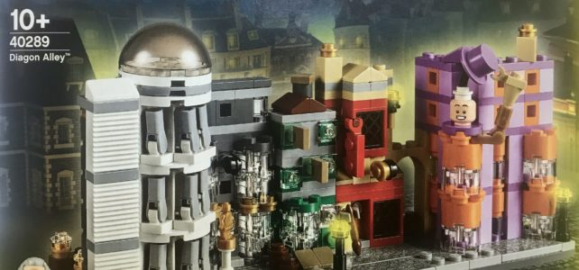 Nouveauté LEGO Harry Potter 40289 Diagon Alley microscale