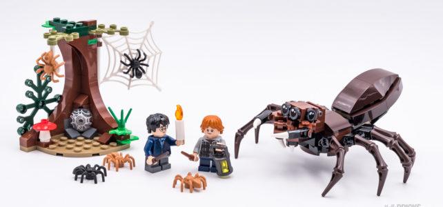 REVIEW LEGO 75950 Harry Potter Aragog's Lair