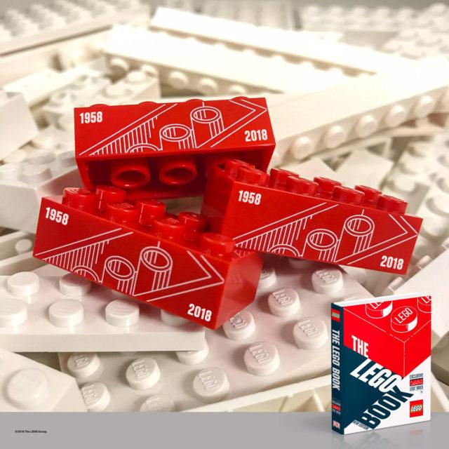The LEGO Book brique anniversaire