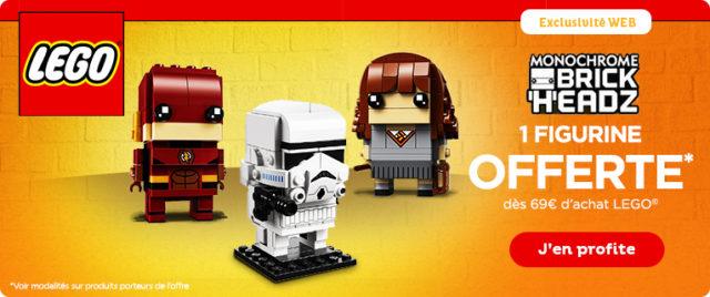 Toys R Us LEGO BrickHeadz offert