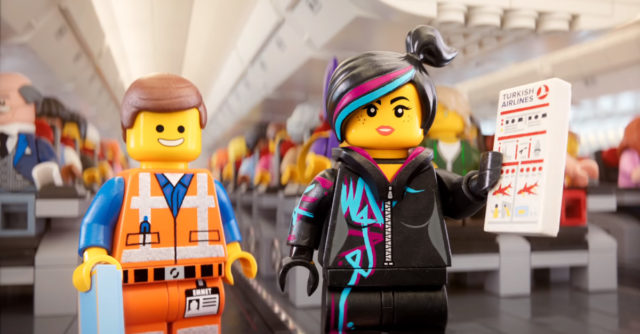 Turkish Airlines LEGO Movie 2 Safety video