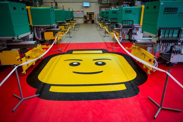 Usine LEGO minifigs Kladno