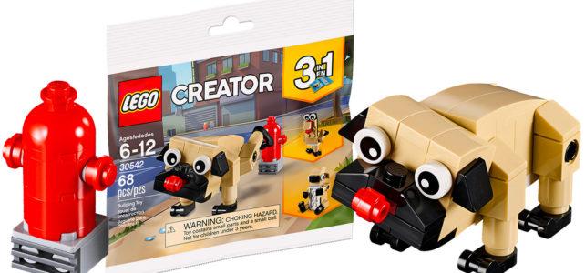 polybag LEGO Creator 30542 Cute Pug