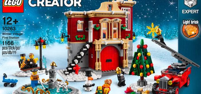 LEGO 10263 Winter Village 2018 Fire Station