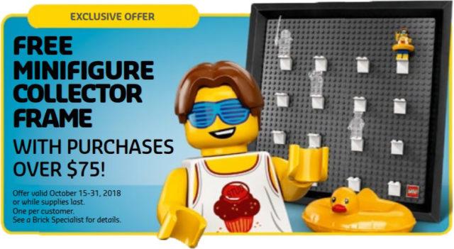 LEGO 5005359 cadre pour minifigs