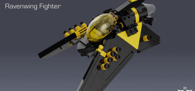 Blacktron Ravenwing Fighter
