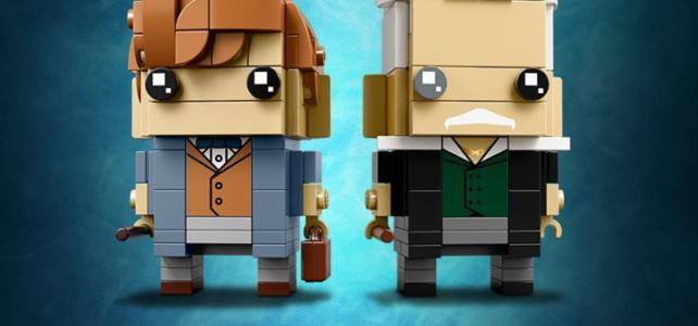 LEGO BrickHeadz 41631 Newt Scamander & Gellert Grindelwald