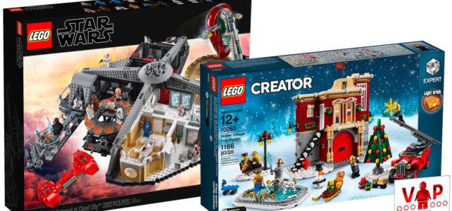LEGO Star Wars 75222 Cloud City 10263 Winter Village Fire Station