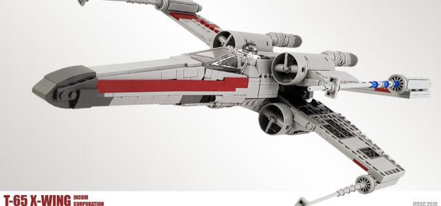 T-65 X-Wing : beaucoup plus fidèle à l'original !