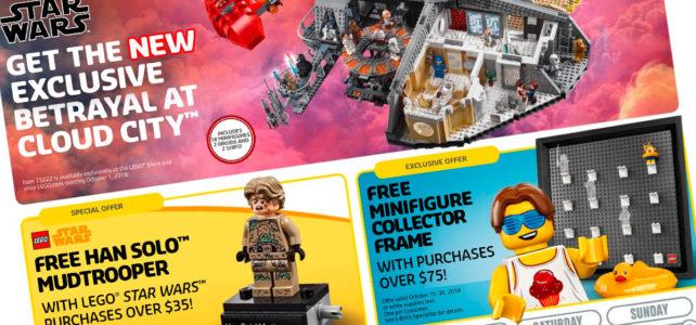 Bientôt offert chez LEGO : polybag LEGO Star Wars 40300 Han Solo Mudtrooper et un cadre pour minifigs