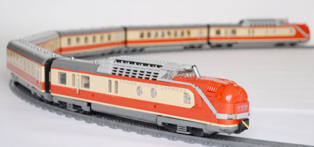 LEGO Trans-Europ-Express(TEE)