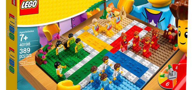 Nouveauté LEGO 40198 LUDO Game
