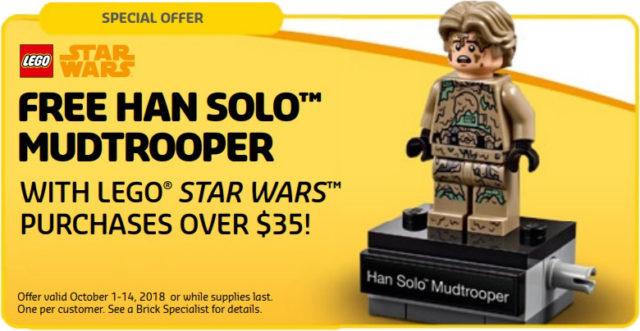 polybag LEGO Star Wars40300 Han Solo Mudtrooper