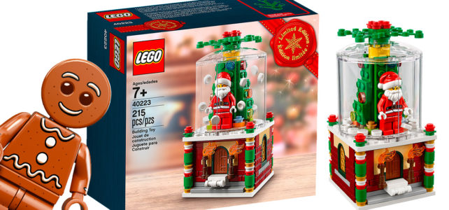 LEGO 40223 Snowglobe (et le Gingerbread Man) de retour sur le Shop LEGO