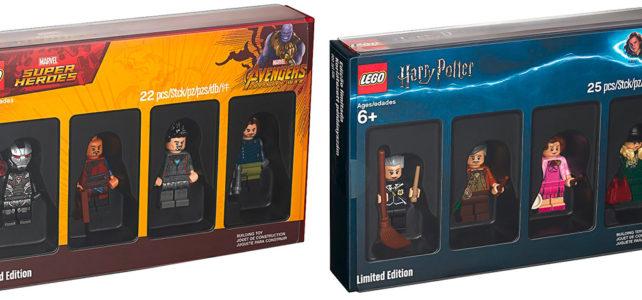 LEGO 5005254 Harry Potter et 5005256 Marvel Avengers Infinity War