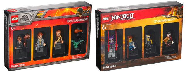 LEGO 5005255 Jurassic World et 5005257 Ninjago Bricktober 2018 King Jouet